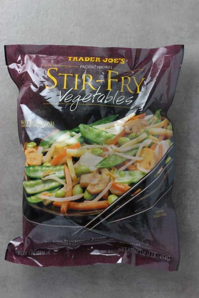 Trader Joe's Stir Fry Vegetables bag