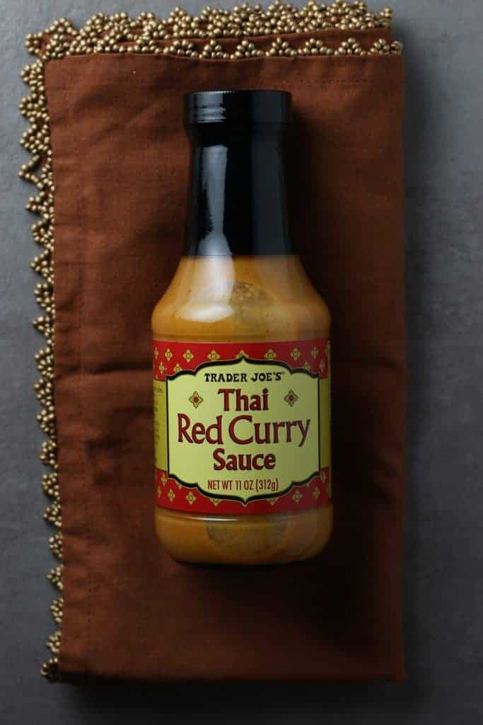 Trader Joe's Thai Red Curry Sauce bottle