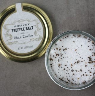 Trader Joe's Truffle Salt with Black Truffles