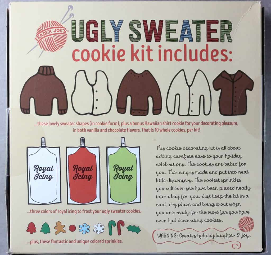 Trader Joes Ugly Sweater Cookie Kit Becomebettycom