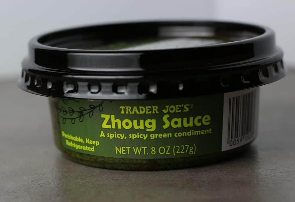 Trader Joe's Zhoug Sauce package from the front