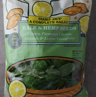Trader Joe's A Complete Salad Kale and Hemp Seeds