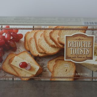 Trader Joe's Brioche Toasts box