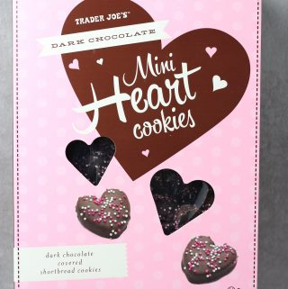 Trader Joe's Dark Chocolate Mini Heart Cookies