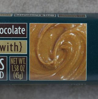 Trader Joe's Dark Chocolate filled with Speculoos Cookie Spread