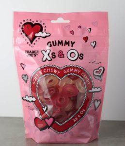 Trader Joe's Gummy Xs and Os bag