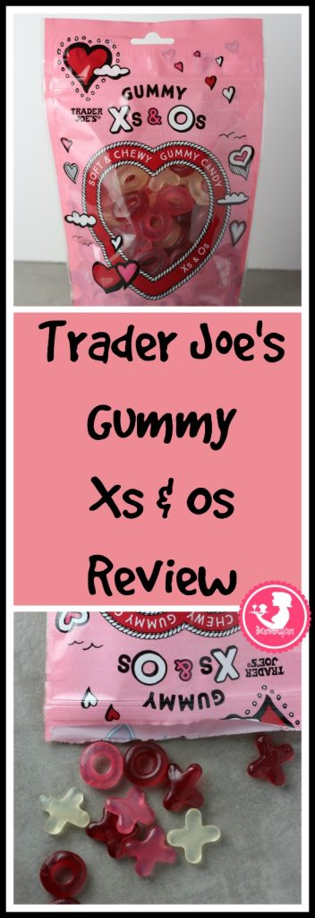 Trader Joe's Gummy Xs and Os review pin for Pinterest