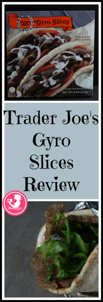 Trader Joe's Gyro Slices Review Pin for Pinterest