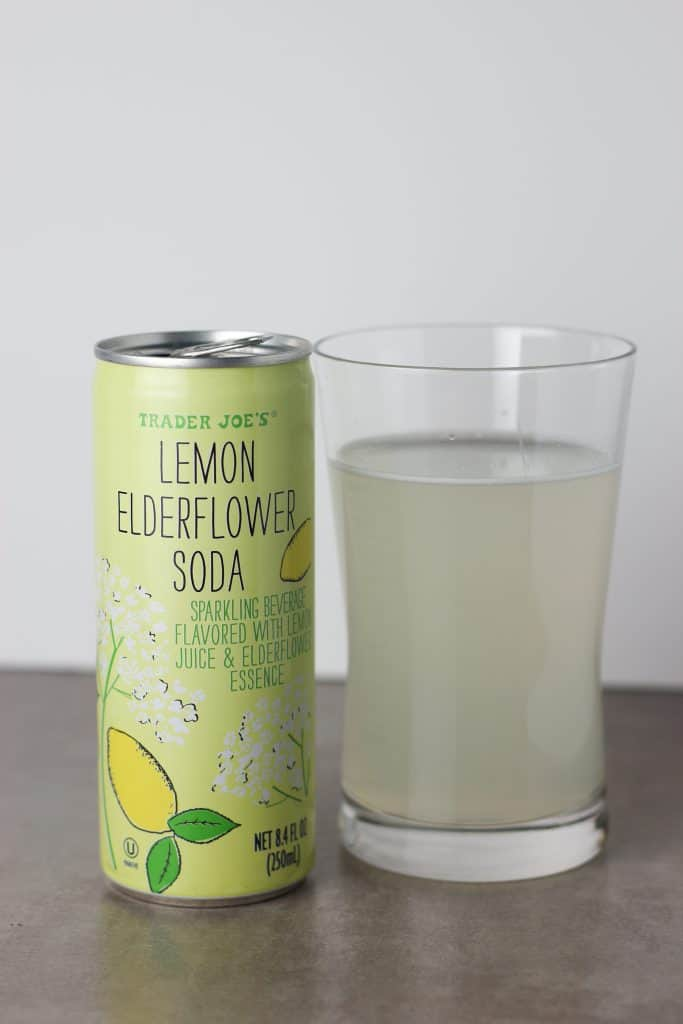 Trader Joe's Lemon Elderflower Soda-4 | BecomeBetty.com