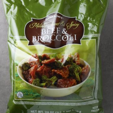 Trader Joe's Beef and Broccoli