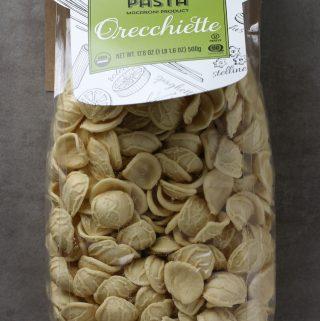 Trader Joe's Organic Italian Artisan Pasta Orecchiette bag