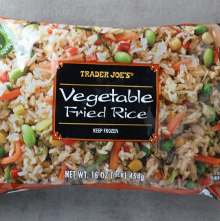 Trader Joe's Vegetable Fried Rice