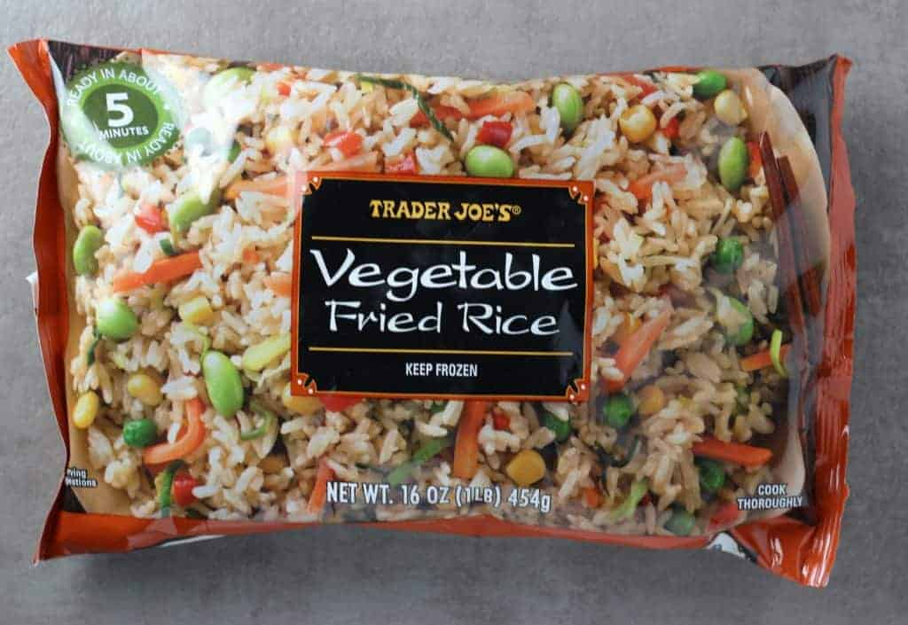 Trader Joe's Vegetable Fried Rice bag