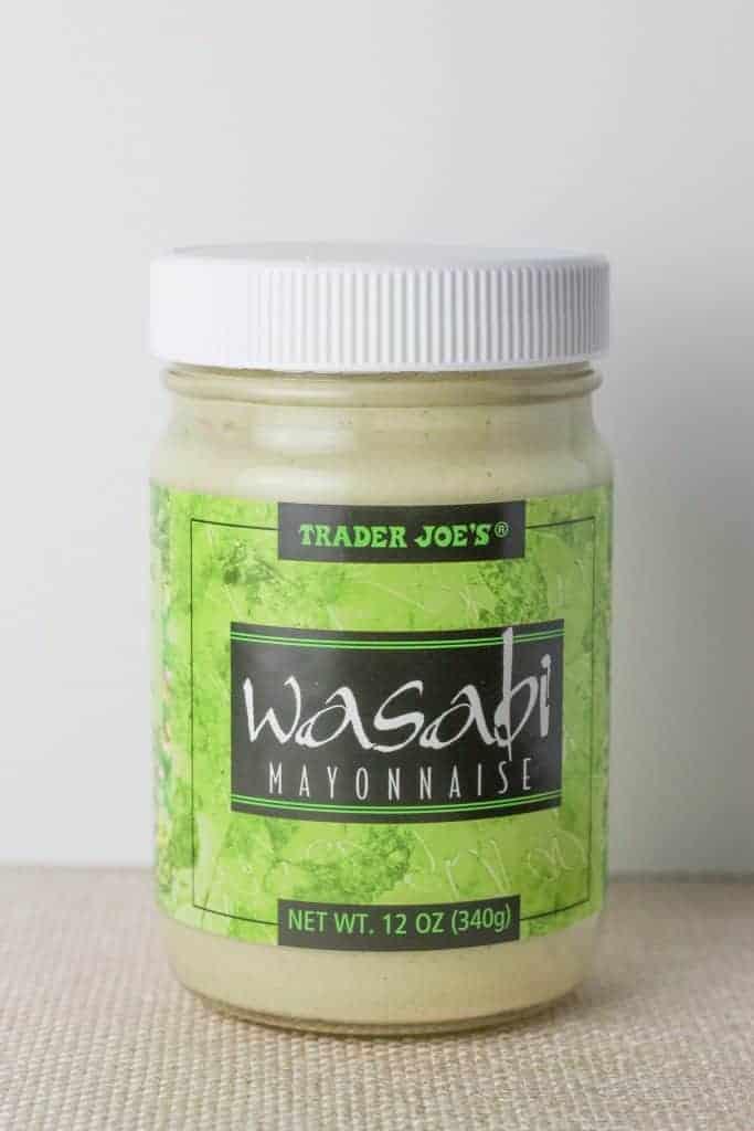 Trader Joe's Wasabi Mayonnaise jar