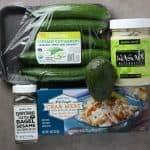 Spicy California Crab Avocado Boats Ingredients