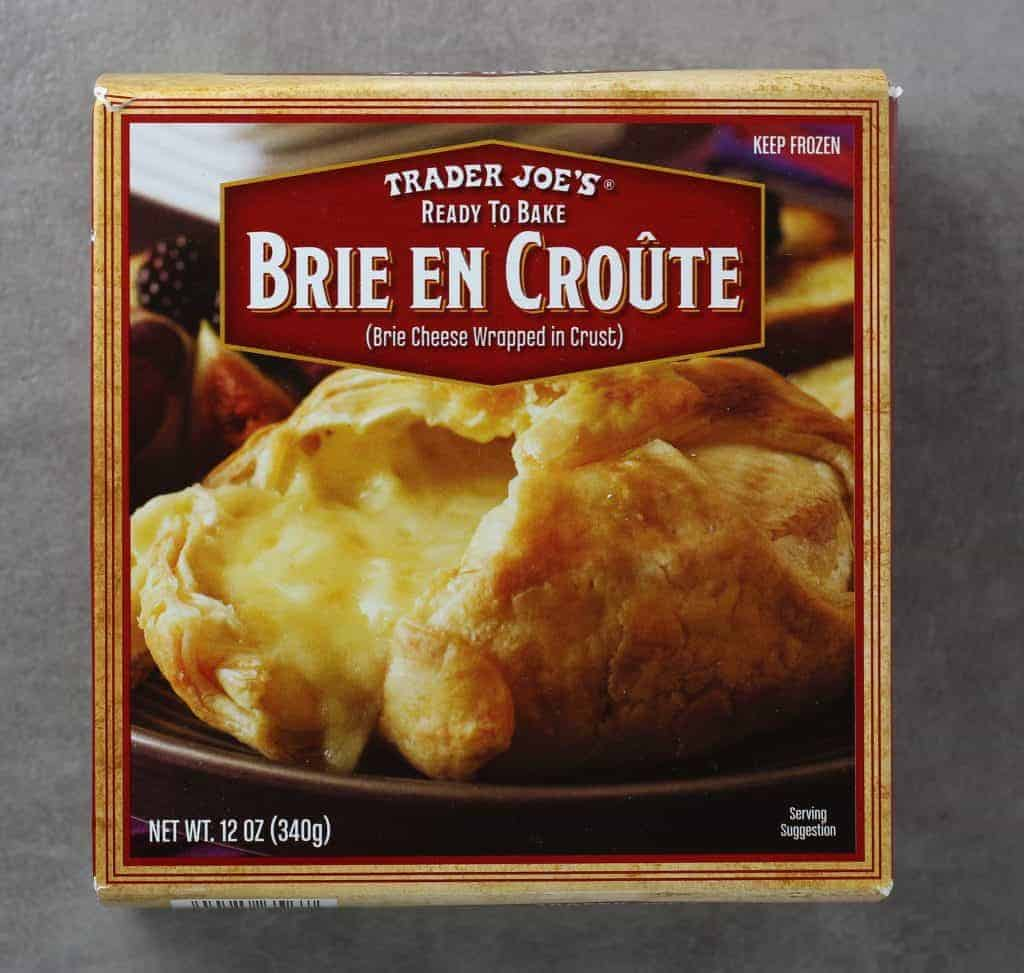 Trader Joe's Brie En Croute box