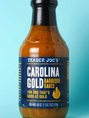 Trader Joe's Carolina Gold Barbeque Sauce bottle