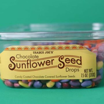 Trader Joe's Chocolate Sunflower Seed Drops