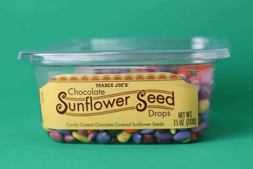 Trader Joe's Chocolate Sunflower Seed Drops package