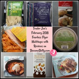 Trader Joe's February 2018 Fearless Flyer Matchups