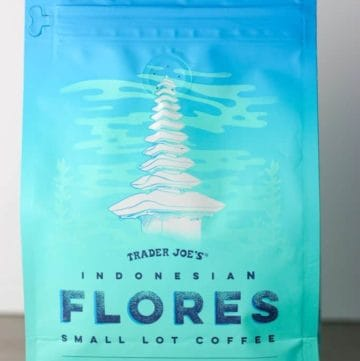 Trader Joe's Indonesian Flores Small Lot Coffee bag