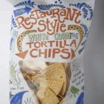 Trader Joe's Restaurant Style White Corn Tortilla Chips bag