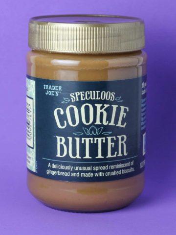 Trader Joe's Speculoos Cookie Butter jar