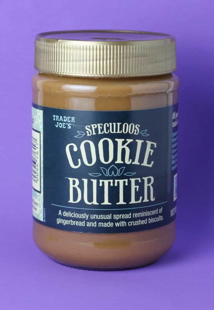 Trader Joe's Speculoos Cookie Butter jar