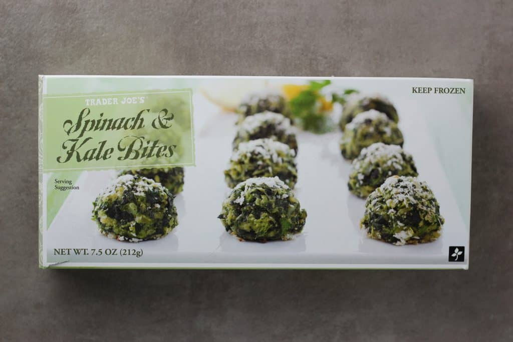 Trader Joe's Spinach and Kale Bites