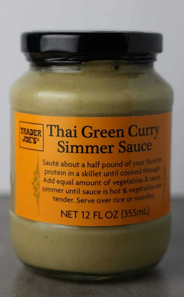 Trader Joe's Thai Green Curry Simmer Sauce