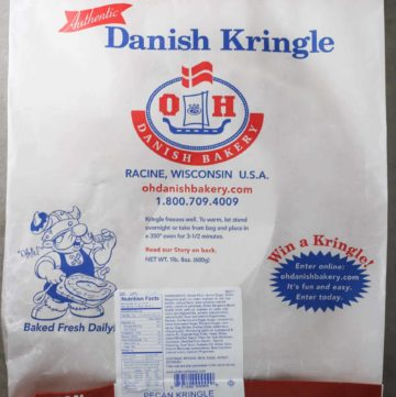 O&H Danish Bakery Pecan Kringle package