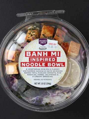 Trader Joe's Banh Mi Inspired Noodle Bowl