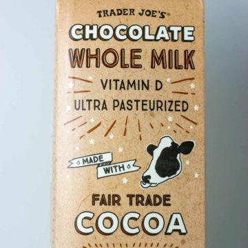 Trader Joe's Chocolate Whole Milk package