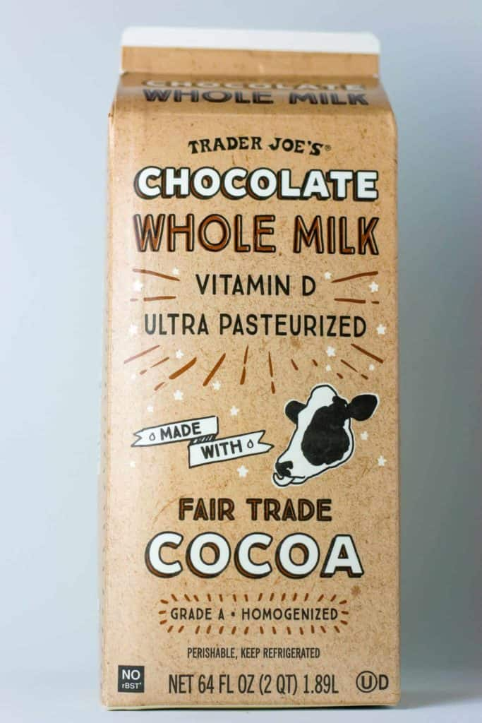 Trader Joe's Chocolate Whole Milk package