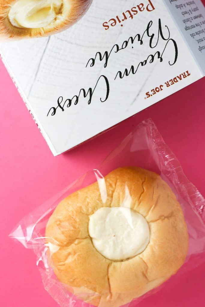 Trader Joe's Cream Cheese Brioche Pastries wrapped
