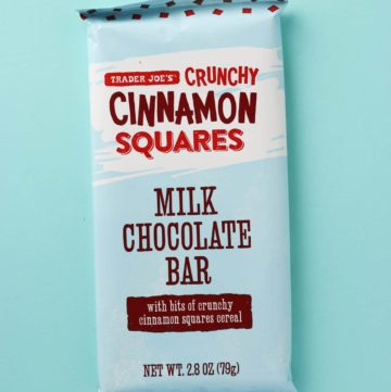 Trader Joe's Crunchy Cinnamon Squares Milk Chocolate Bar