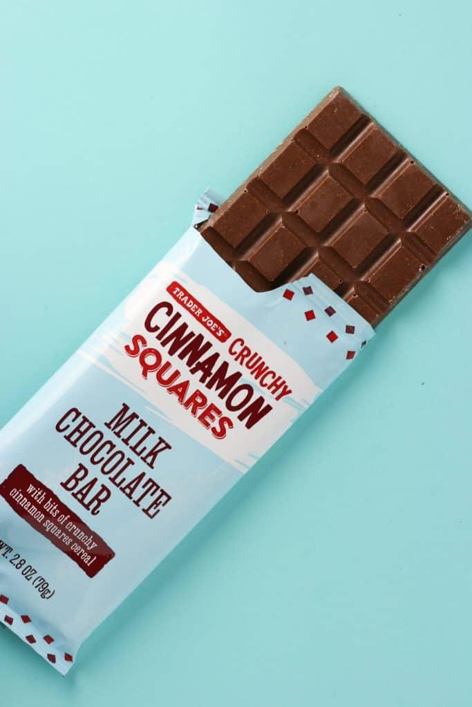 Trader Joe's Crunchy Cinnamon Squares Milk Chocolate Bar