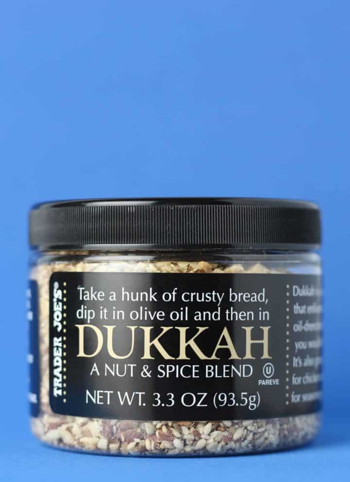 Trader Joe's Dukkah jar