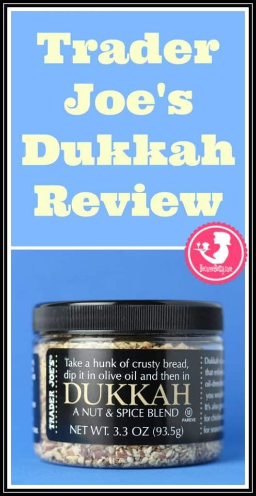 Trader Joe's Dukkah Review pin for Pinterest