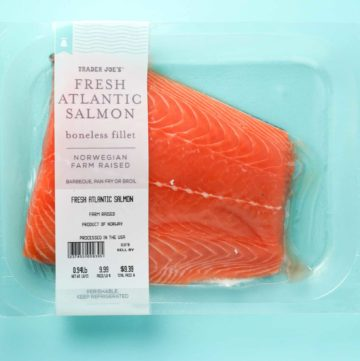 Trader Joe's Fresh Atlantic Salmon