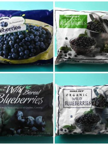 Trader Joe's Frozen Blueberries
