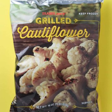 Trader Joe's Grilled Cauliflower bag