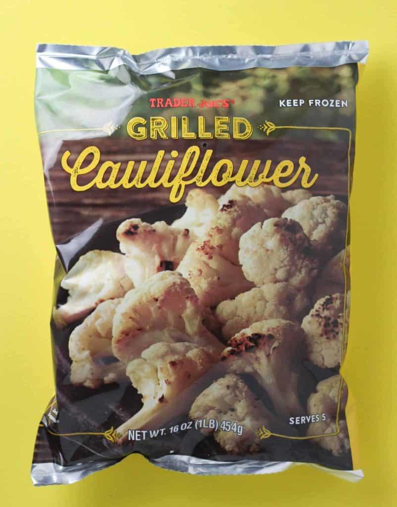 Trader Joe's Grilled Cauliflower bag