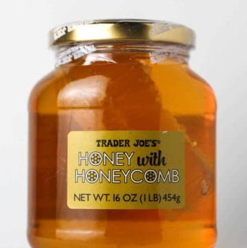 Trader Joe's Honey with Honeycomb package