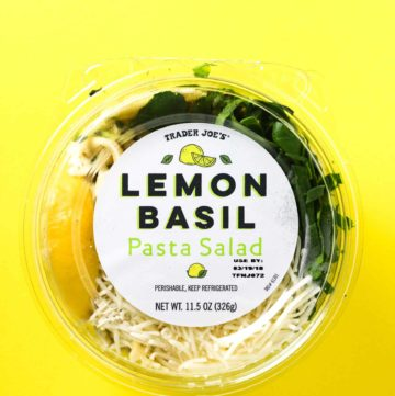 Trader Joe's Lemon Basil Pasta Salad