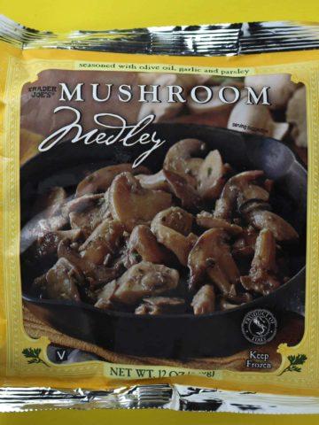 Trader Joe's Mushroom Medley bag