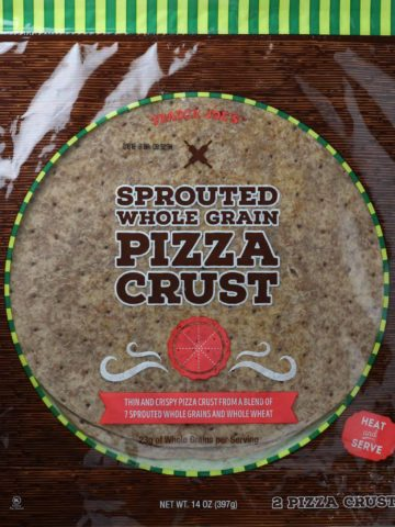 Trader Joe's Sprouted Whole Grain Pizza Crust