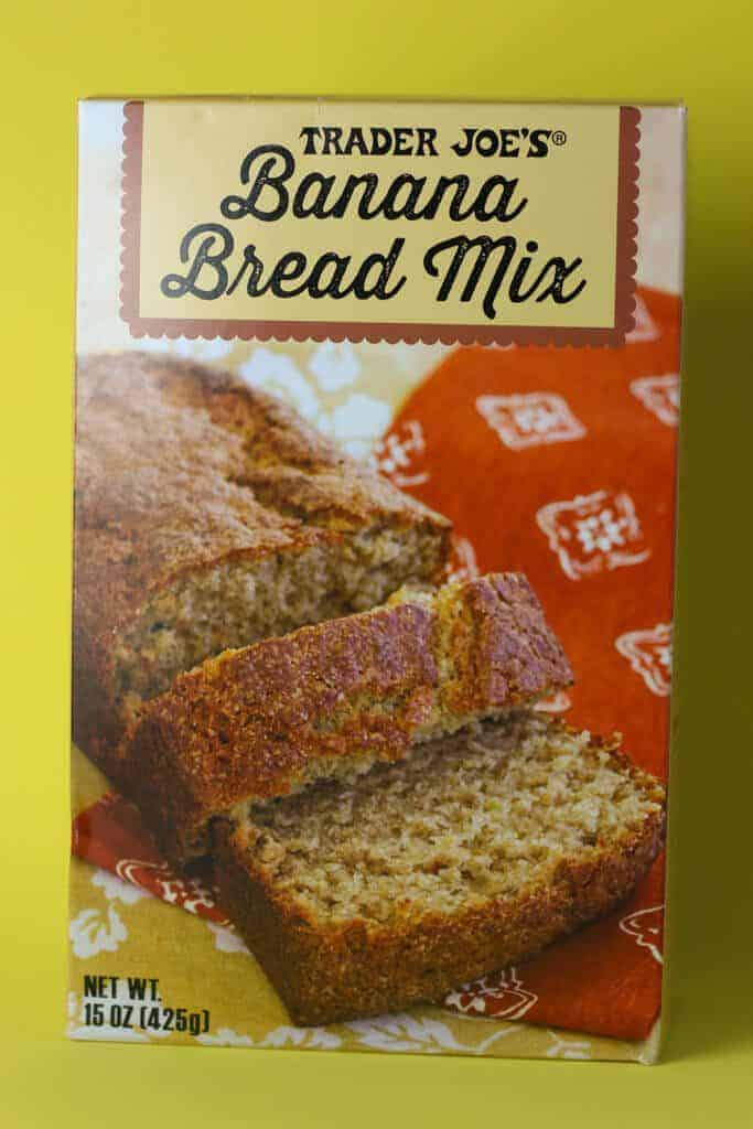 Trader Joe's Banana Bread Mix box