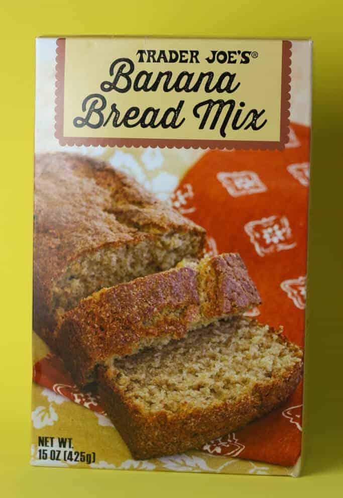 Trader Joe's Banana Bread Mix box