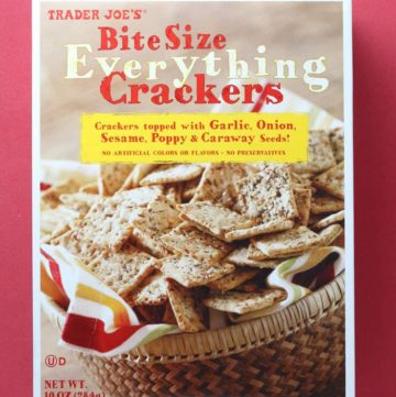 Trader Joe's Bite Size Everything Crackers